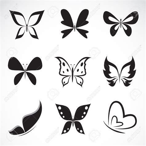 butterfly tattoos small simple tiny black butterfly search
