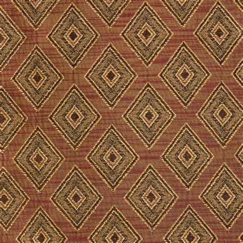 geometric fabric upholstery brick red geometric upholstery fabric