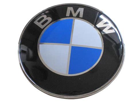 bmw front emblem bmw genuine front roundel emblem badge bonnet 82mm