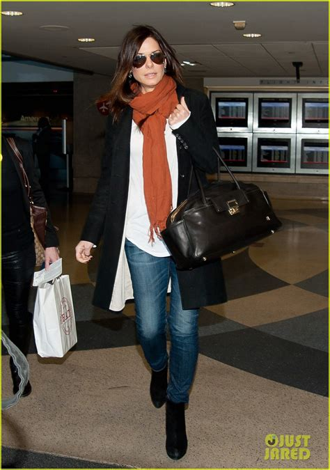 sandra bullock lax airport 05 full sized photo of sandra bullock lax airport 01 photo