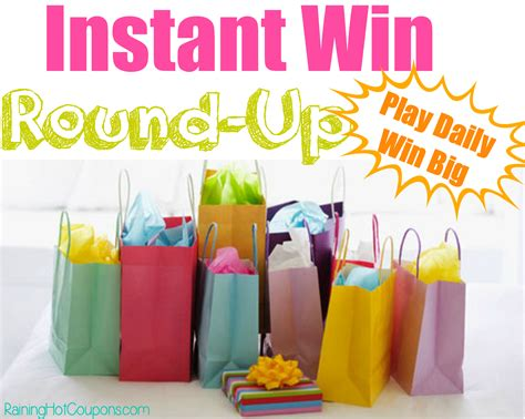 List Of Instant Win Games - huge list of instant win games enter daily lots of