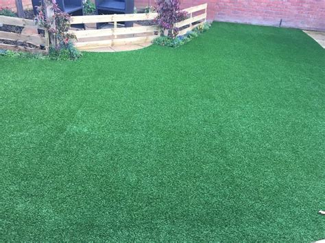 artificial grass for patio middlesbrough garden goes artificial with a new vision