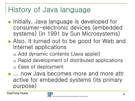 Historis Of Java ppt 09 ice0124 programming fundamentals i java programming powerpoint presentation