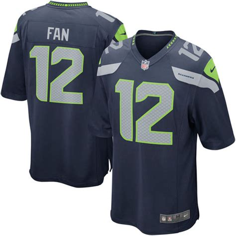 college fan gear reviews fan 12 seattle seahawks nike alternate game jersey