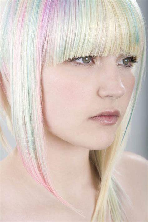 pastel hair color magic unicorn opal hair color strayhair