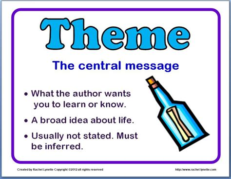themes book meaning ideas for teaching theme and a couple freebies minds