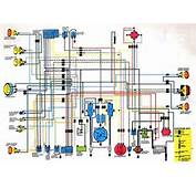 The Above Picture Shows Honda CB350 Wiring Diagram  It Describes