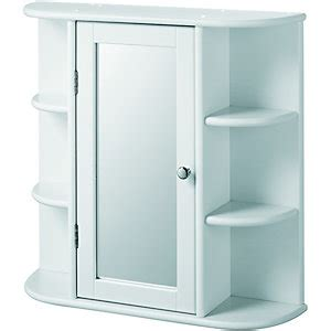 white mirror bathroom cabinet wickes bathroom single mirror cabinet with 6 shelves white