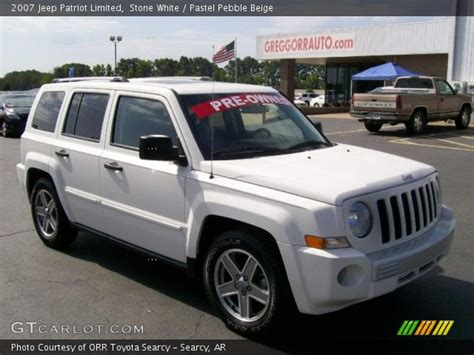 white jeep patriot pics for gt white jeep patriot limited