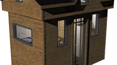 nook house the nook tiny house design and plans youtube