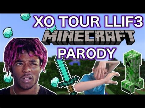 download lagu xo tour lil uzi quot xo tour life quot minecraft parody