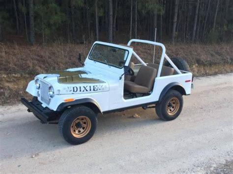 Dukes Jeep Duke Jeep Classic Jeep Cj 1981 For Sale