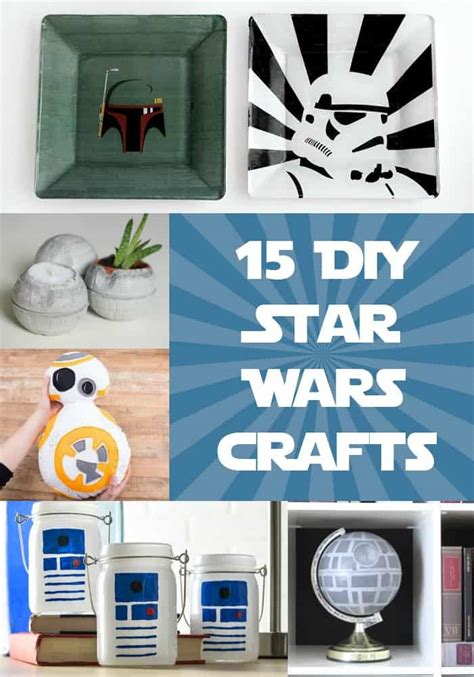 gifts for star wars fans 15 diy star wars projects you ll love diy candy