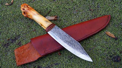 bone knife handles ml knives custom bone handle c knife bowie