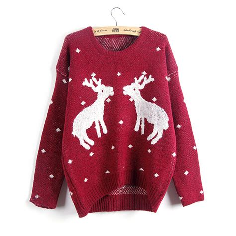 knitting pattern christmas jumper reindeer popular reindeer christmas sweater buy cheap reindeer