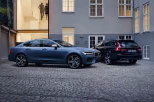 Volvo Models New Volvo S90 And V90 R Design Models Unveiled Auto Express