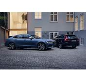 New Volvo S90 And V90 R Design Models Unveiled  Auto Express