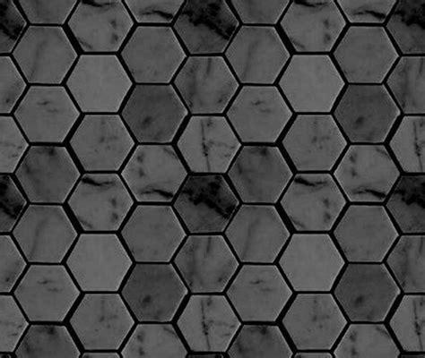 gray hexagon bathroom tile ideas  pictures