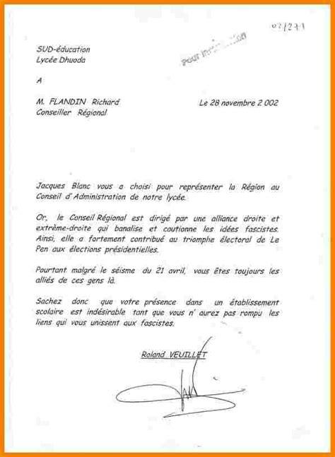 Exemple De Lettre De Demission Dans Le Batiment L7 Ettre De Demission Lyc 233 E Lettre Officielle