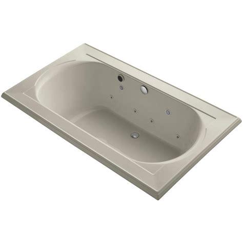 kohler walk in bathtubs kohler memoirs 6 ft walk in whirlpool and air bath tub in