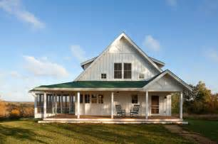 unique farmhouse for mid size family w porch hq plans awesome modern look metal farmhouse hq plans amp pictures
