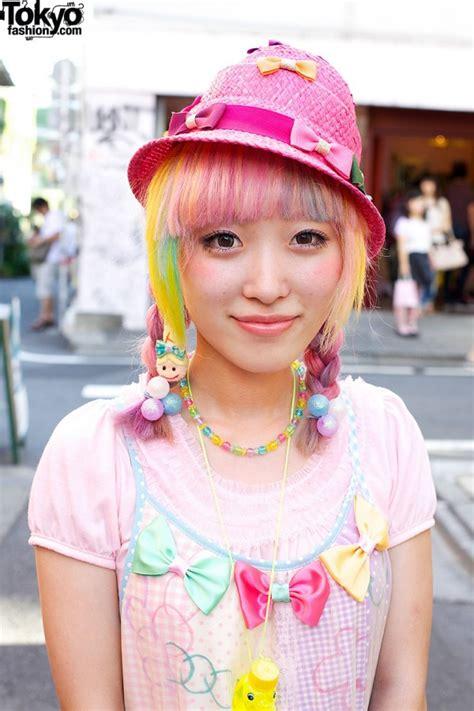 ducky braids kumamiki w rainbow hair bows cute party baby shrimp in