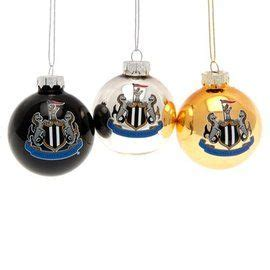 arsenal xmas baubles newcastle united baubles christmas merchandise