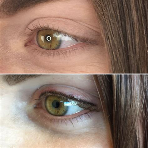 eyeliner tattoo before and after permanent eyeliner before after eyeliner