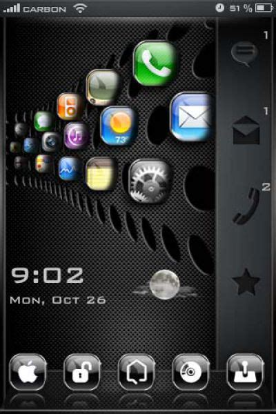 can you get themes for iphone 6 some of the coolest iphone 4 themes 50 pics picture