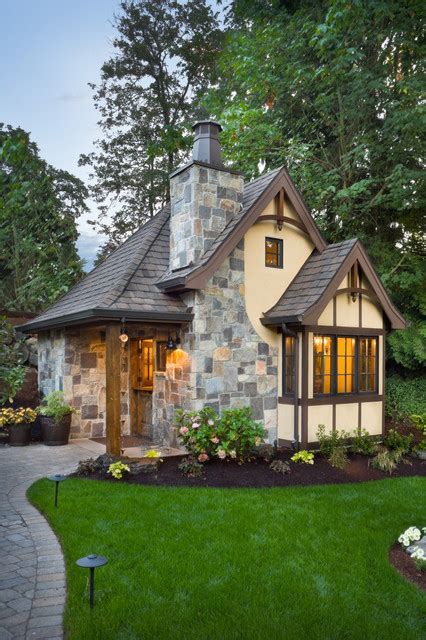 alan mascord design the rivendell manor traditional exterior portland
