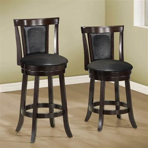 maverick swivel counter height chairs dining room furniture