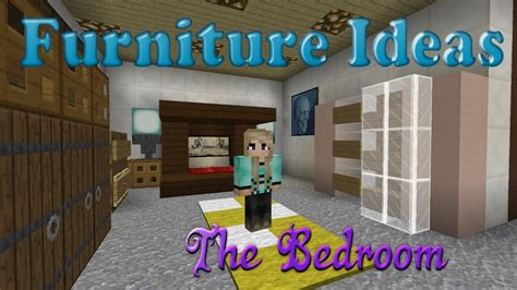 minecraft furniture ideas 3 kiwi designs for bedroom furniture youtube