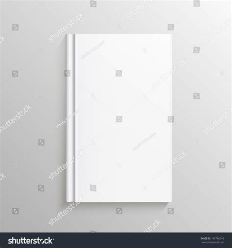 gradient books blank book cover vector illustration gradient stock vector