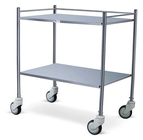 Instrument Trolley 1 instrument trolley stainless steel instrument trolleys and revolving stools ot icu