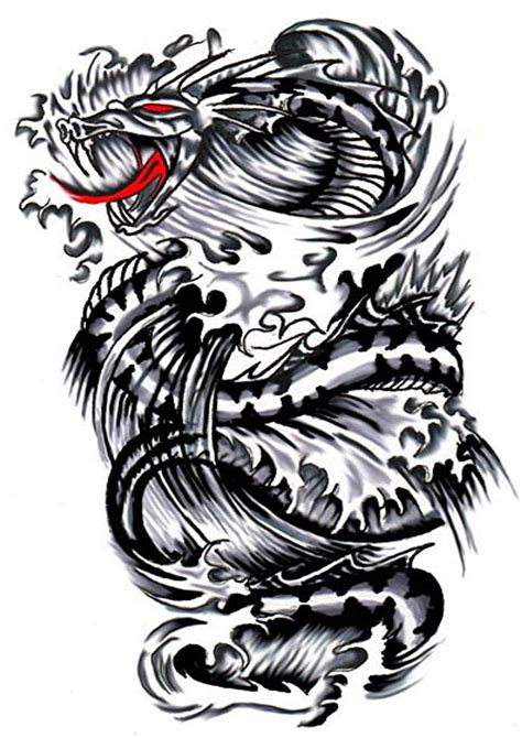 big dragon tattoo designs tribal tattoos designs and ideas