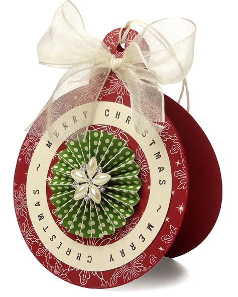 ornament shaped card pazzles craft room