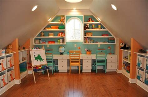 attic area turn the attic into a perfect play area for the kids 25