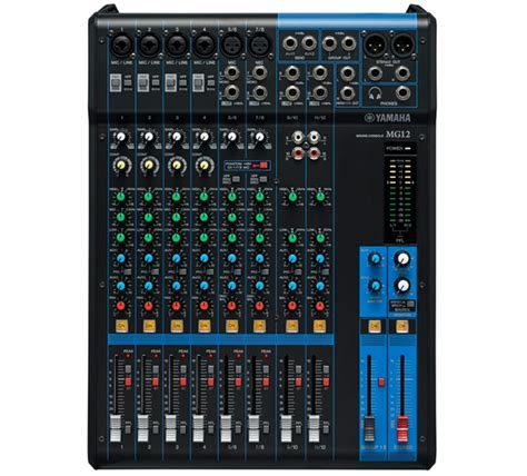 Daftar Mixer Yamaha 12 Channel yamaha mg12 12 channel mixer limited