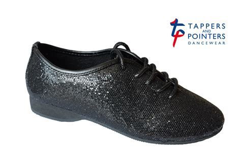 black jazz shoes for silver or black glitter jazz shoe