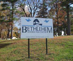 new bethlehem memorial park cemetery in bellefontaine