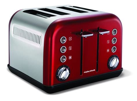 Toaster Reviews Morphy Richards 242004 Accents Toaster Review