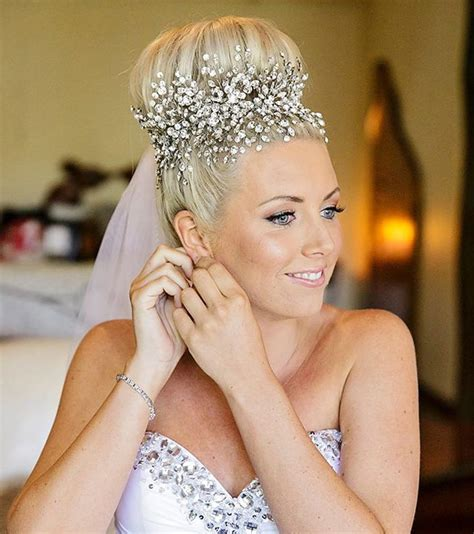 Wedding Hair Bun Wraps by 15 Bridal Headpieces To Replace A Traditional Veil