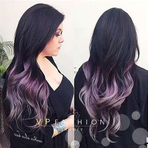 three tone hair color ideas purple ombre hair color in 2016 amazing photo
