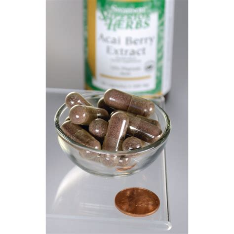 Murah Swanson Acai Berry 60 Caps acai berry extract swanson health products europe