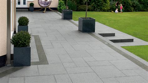 Garden Paving Ideas Uk Fairstone Eclipse Granite Garden Paving