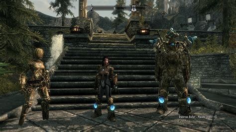 skyrim dwarven dwemer power armor skyrim nexus mods and community
