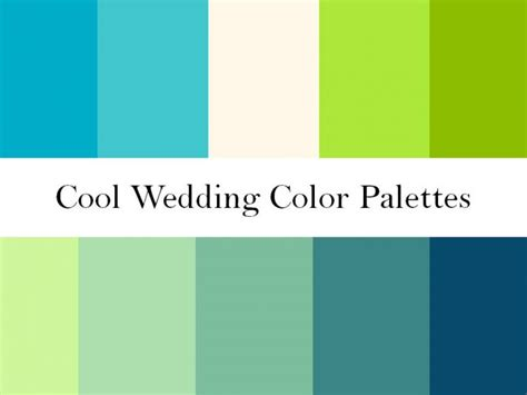 spring green color palette find your wedding color palette and wedding patterns onewed