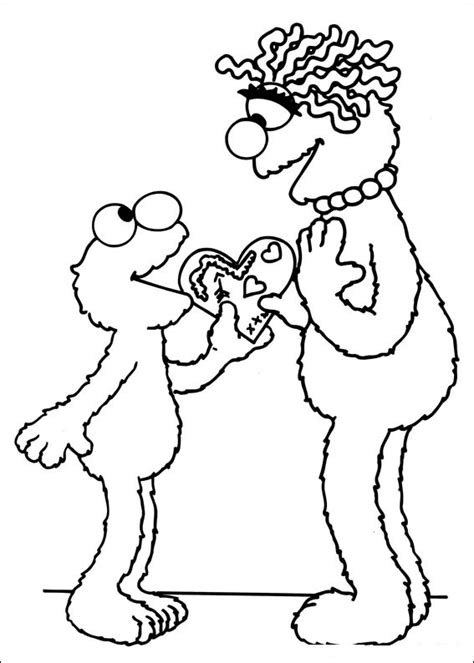 printable coloring pages sesame street free printable sesame street coloring pages for kids