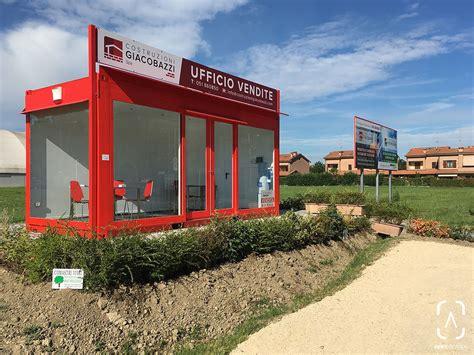 ufficio vendite ufficio vendite in un container realizzato su commessa