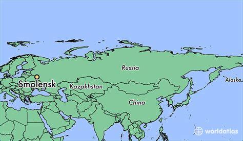russia map smolensk where is smolensk russia where is smolensk russia
